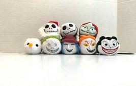 Disney Store Tsum Tsum Mini Plush Nightmare Before Christmas Set  - $29.65