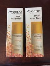 (2) Aveeno Smart Essentials Daily Moisturizer w Sunscreen SPF 30 Exp 03/18 - $45.00