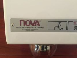 (2) New NOVA 0110 Push Button Hand Dryer American Hotel Register Canada Made image 3