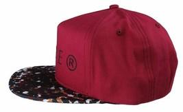 Dope Couture D0915-H206-BUR Seurat hook Loop Strapback Cap Burgundy Speckled Hat image 2
