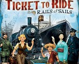 Days of wonder ticket to ride rails and sails boardgame2 thumb155 crop