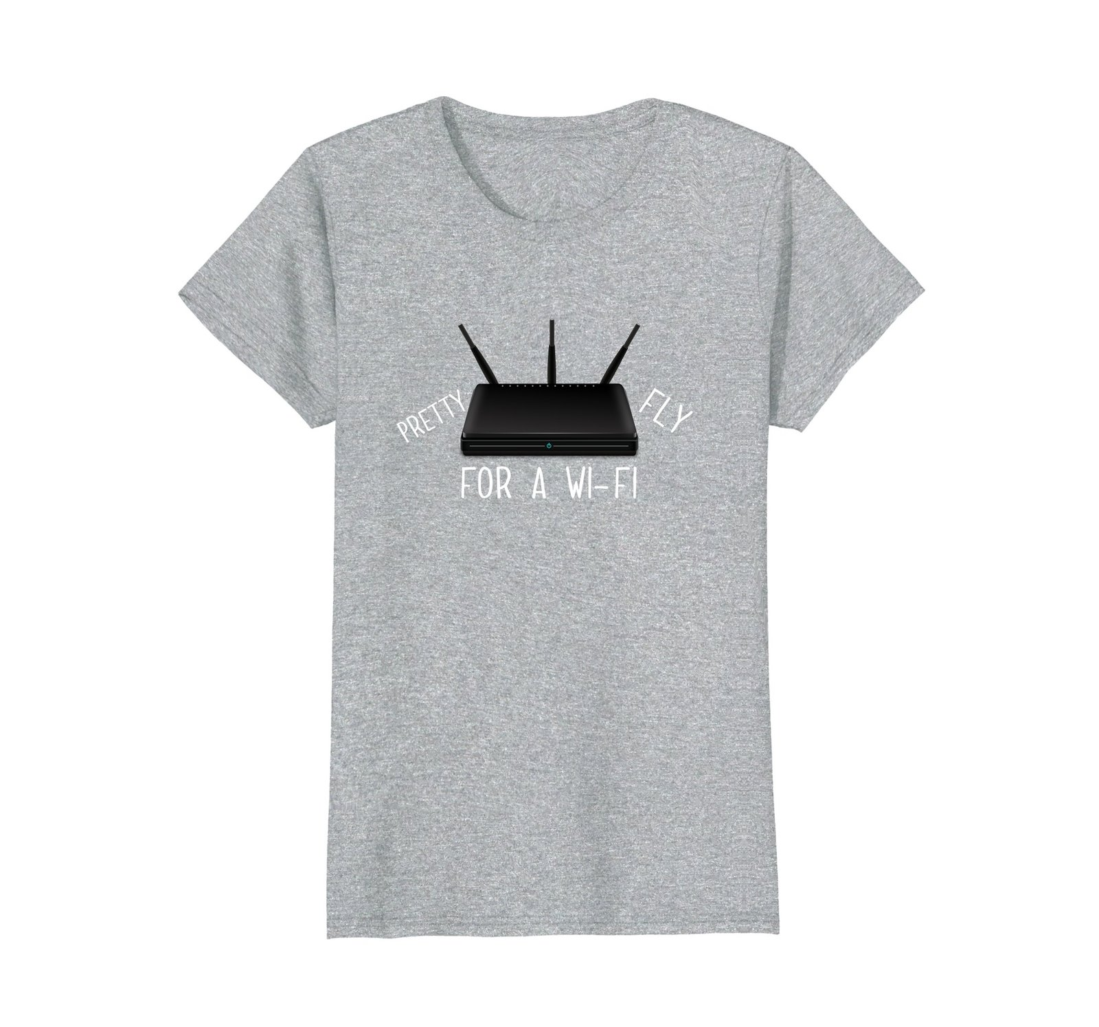 Primary image for Funny Shirts - Pretty Fly for a WiFi Wowen