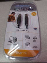 Brand NEW! Belkin 5-Pin Mini-B Hi-Speed USB 2.0 Cable - 6 Ft - (F3U138V06) - $11.83