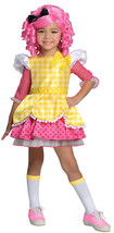 Lalaloopsy Toddler Deluxe Crumbs Sugar Cookie Girls Costume Sz XS (2-4) - $29.69