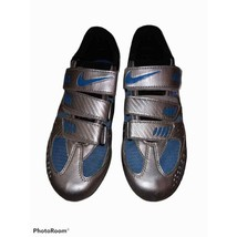 Nike Blue & Silver Cycling Shoes Size 39 ( Womens 8) - $44.55