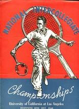 NATL INTERCOLLEGIATE TENNIS CHAMPS.-1948-UCLA-ENTRY VG - $55.87