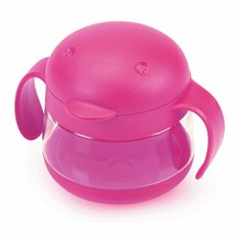 """Ubbi Tweat Snack Container, Hot Pink Sturdy 5"""" Toddler Cup With Easy Han... - $11.13"""