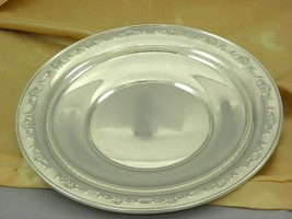 Gorham Sterling Silver Plate / Charger #1123 Circa 1980, 265 Gr. Best Deal - $330.66