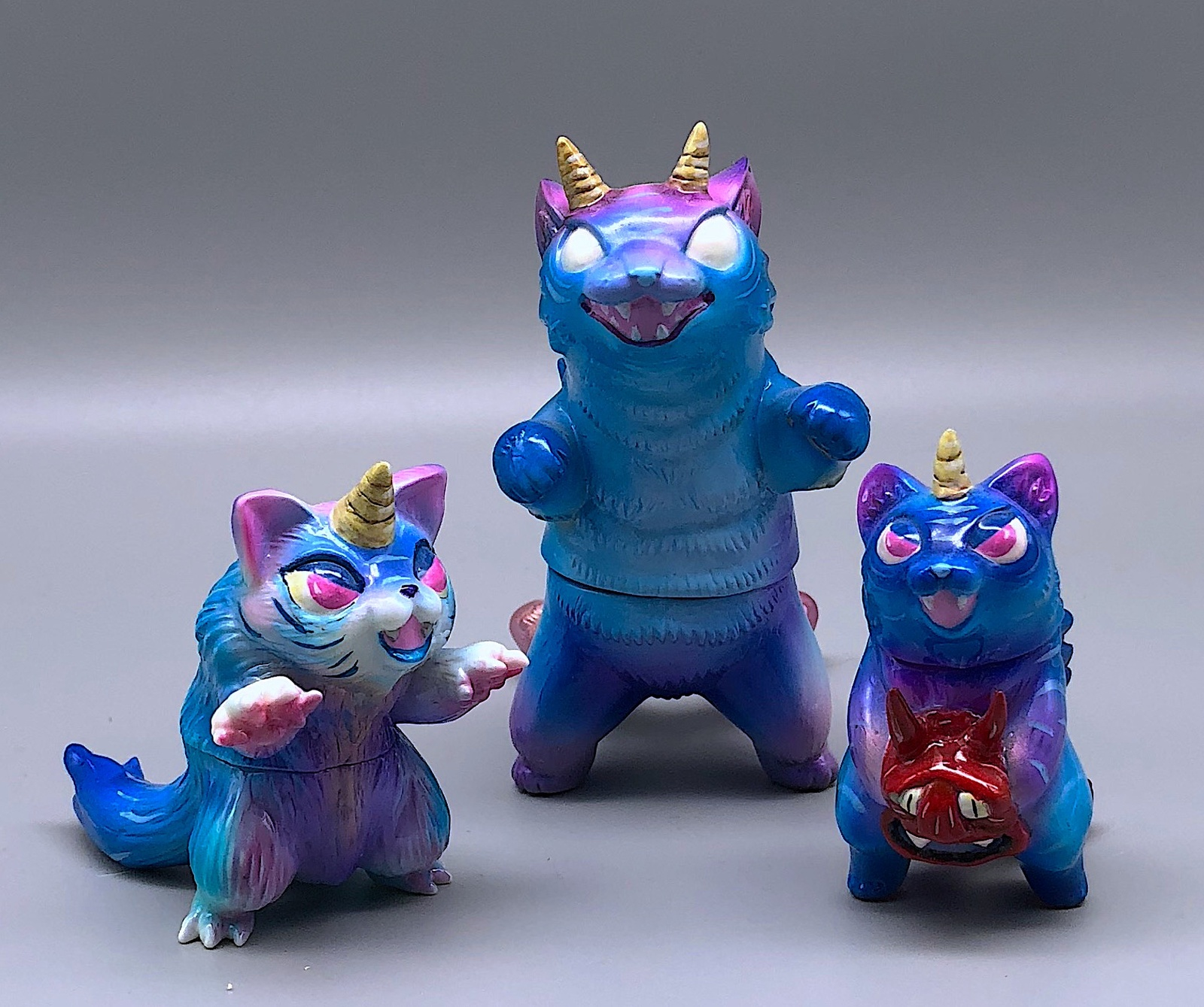 Max Toy x Javier Jimenez Demon Yokai Negora Set