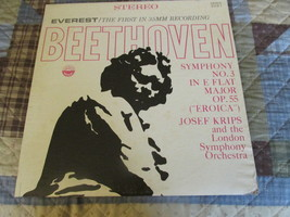 Beethoven The Third Symphony Josef Kriff - London Symphony Orchestra Rec... - $9.99