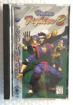 ☆ Virtua Fighter 2 (Sega Saturn 1996) AUTHENTIC Complete in Case Game Wo... - $23.00