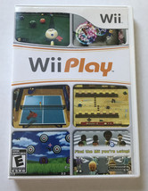 Wii Play (Wii, 2007) Case And Disc No Manual - $8.88