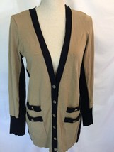 CACHE Long Duster Cardigan Sweater Size Large NEW Color Block  - $46.42 CAD
