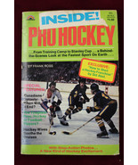 1973 Dell Inside Pro Hockey Paperback By Frank Ross Canadians - $24.74