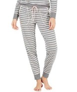 Jenni by Jennifer Moore Knit Jogger Pajama Pants (Gray, XL) - $24.00