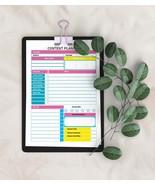 CONTENT Planner 2020, INSTANT download, google, facebook, Social Media P... - $0.90