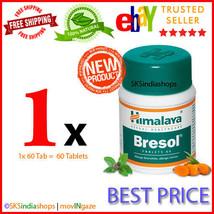 1x Himalaya Herbal Bresol 60 Tablet Pack of 1x60 Tablets - $5.41