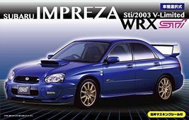 FUJIMI 1/24 Subaru Impreza WRX STI 03 / V-Limited Inch-up ID-103 s From ... - $67.31