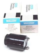 LOT OF 2 NIB MALLORY SC628AP SONALERT ELECTRONIC SIGNAL 6-28 VAC/VDC, 2900 HZ image 1