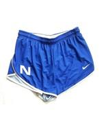 Nike NSU Sharks Womens Med DQT Victory Running Short Mesh Liner Blue Cross - $22.49