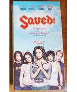 Saved VHS Mandy Moore Macaulay Culkin Jena Malone Mary-Louise Parker - $1.99