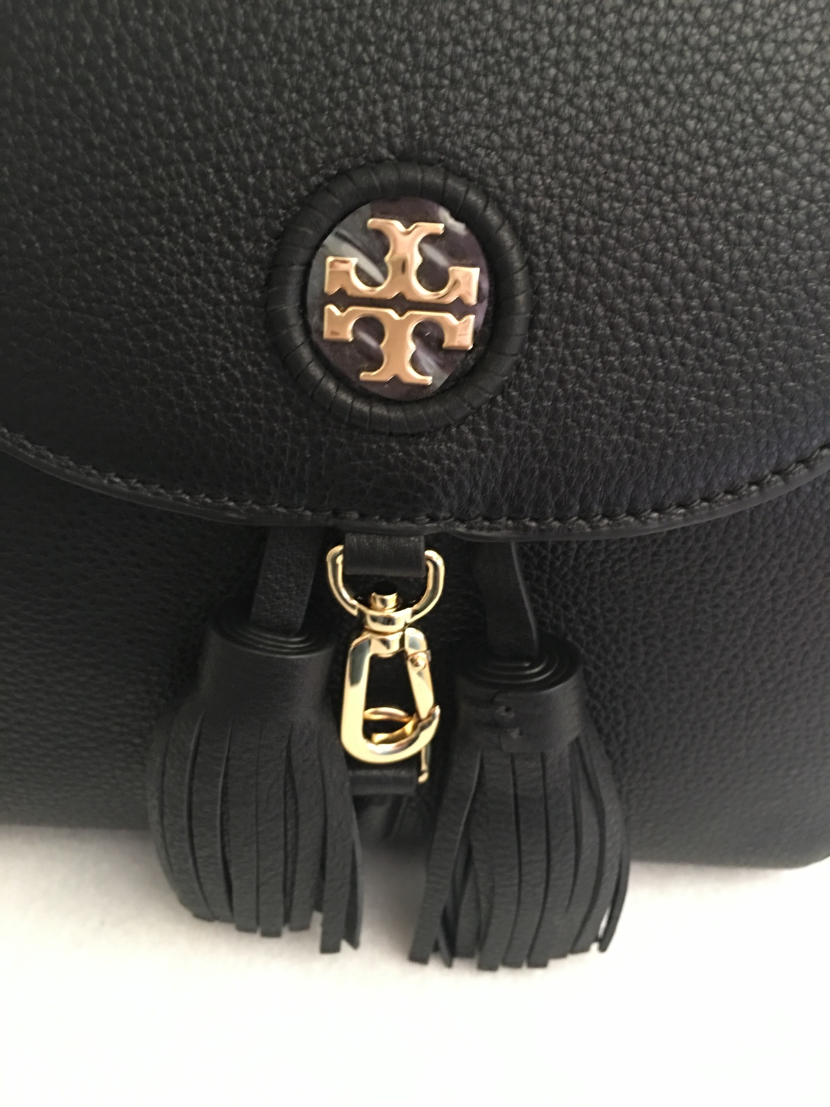 9c11ccb201d Tory Burch Whipstitch Logo Mini Backpack and 50 similar items