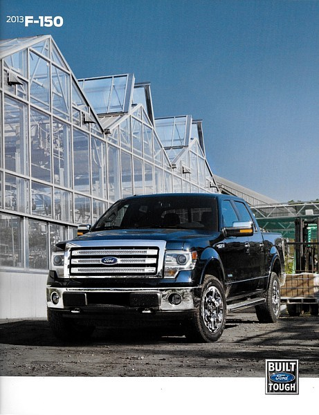 2013 Ford F-150 brochure catalog US 13 King Ranch Lariat Platinum SVT RAPTOR