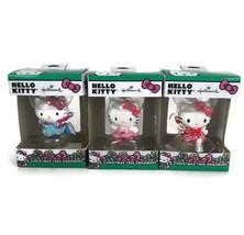 3 Hallmark Hello Kitty 2019 Christmas Tree Holiday Ornament Pink Balleri... - $21.16