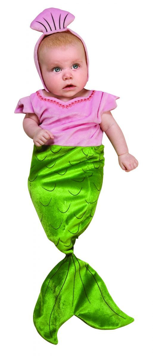 Newborn Mermaid Bunting Halloween Costume