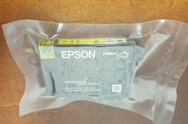 genuine Epson 252 YELLOW Ink WorkForce T252 WF7620 WF3640 printer copier... - $17.77