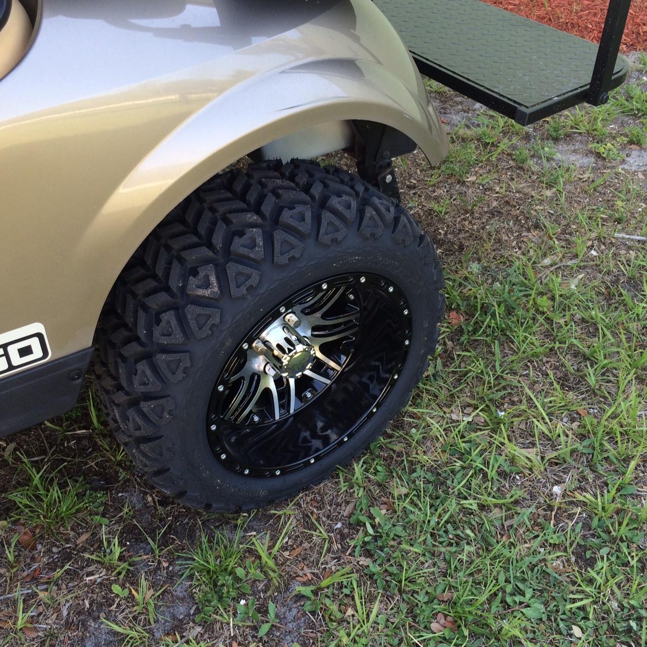 "14"" Golf Cart Wheels and Tire Combo 23x10x14 - Golf Car ..."