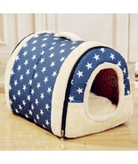 Multifuctional Dog House Nest with Mat Foldable Bed House For Small Pupp... - $23.33+