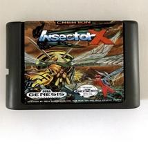 Insector X 16-Bit Sega Genesis Mega Drive Game  - $9.99