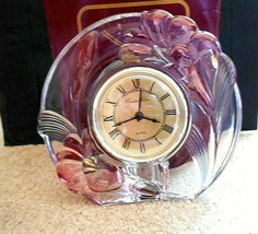 Danbury Crystal Clear Studios Quartz Clock - $14.84