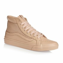 new Vans Sk8-Hi Slim Cutout Square Perf Skate Amberlight Shoes Mens 8 wo... - £48.13 GBP