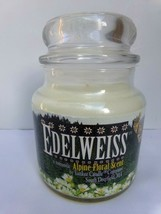 Yankee Candle 14.5 Oz Edelweiss Medium Jar ~ New Vintage Hard to Find Label - $49.99