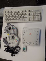 Sega Dreamcast White Console (NTSC) with extras - $104.99