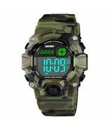Boys Camouflage LED Sports Watch,Waterproof Digital Electronic (Camouflage) - $22.81