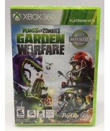 NEW SEALED Plants vs. Zombies: Garden Warfare (Xbox 360 2014) Xbox Live ... - $15.19