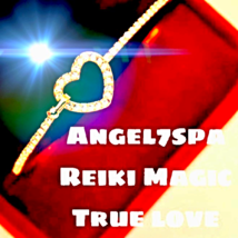 Magic Reiki  True love, good luck  Heart bracellet spellbound  - $22.39