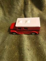 Maisto Red&White Armored Van Scale 1/64 - $7.92