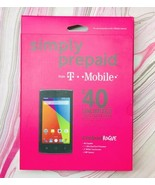 Coolpad Rogue Phone New T Mobile Simply Prepaid Silver Fast Free Shipping - $75.24