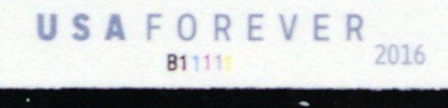 5052a, VF NH PNC Imperforate Strip of Five Stamps RARE! - Stuart Katz