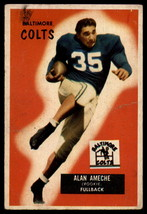 1955 Bowman #8 Alan Ameche Colts EX/NM (RC - Rookie Card)  - $38.00