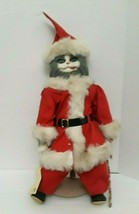 Betty Jane Carter Musical Porcelain Christmas Santa Claws Doll Bette Bal... - $42.08