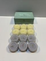 PartyLite Hydrangea Tealight Candles V04061 NIB; Set of 12 - $10.84