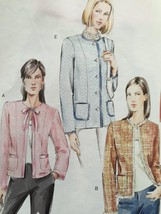 Vogue Sewing Pattern 7975 Misses Petite Jacket Size 18-22 New - $13.43