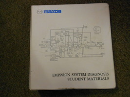 2002 Mazda Emission System Student Materials Service Repair Manual OEM 02 - $29.66