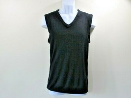 New Tricots St Raphael Sweater Vest Men's V Neck Golf Work Holiday Small... - $9.00