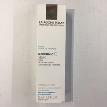 La ROCHE-POSAY Redermic C Eyes 0.5oz Anti-Wrinkle Firming Moisturizer Exp: 04/20 - $20.25